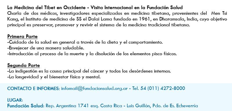 Los esperamos el sábado 18 de octubre de 2014 de 14 a 18 hs.