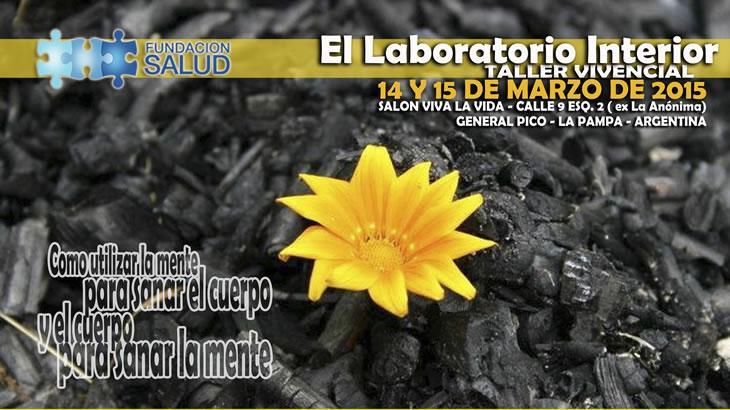 Laboratorio interior en La Pampa